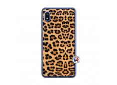 Coque Samsung Galaxy A10 Leopard Style Translu