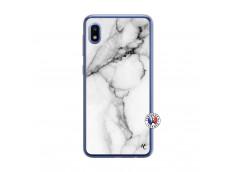 Coque Samsung Galaxy A10 White Marble Translu