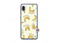 Coque Samsung Galaxy A10 Sorbet Banana Split Translu