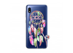 Coque Samsung Galaxy A10 Pink Painted Dreamcatcher