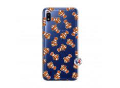 Coque Samsung Galaxy A10 Petits Poissons Clown