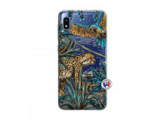 Coque Samsung Galaxy A10 Leopard Jungle