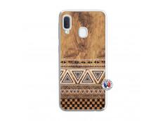 Coque Samsung Galaxy A20e Aztec Deco Translu