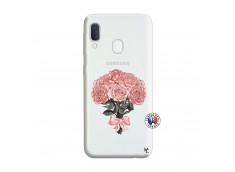 Coque Samsung Galaxy A20e Bouquet de Roses