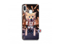 Coque Samsung Galaxy A20e Cat Nasa Translu