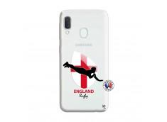 Coque Samsung Galaxy A20e Coupe du Monde Rugby-England