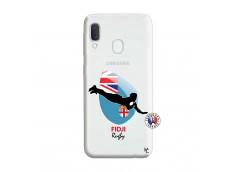 Coque Samsung Galaxy A20e Coupe du Monde Rugby Fidji