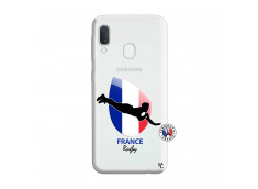 Coque Samsung Galaxy A20e Coupe du Monde de Rugby-France