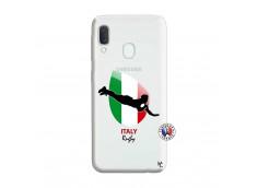 Coque Samsung Galaxy A20e Coupe du Monde Rugby-Italy