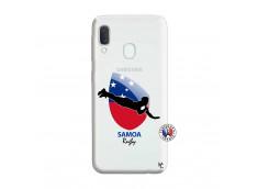 Coque Samsung Galaxy A20e Coupe du Monde Rugby-Samoa
