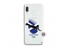 Coque Samsung Galaxy A20e Coupe du Monde Rugby-Scotland