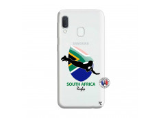 Coque Samsung Galaxy A20e Coupe du Monde Rugby-South Africa