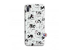 Coque Samsung Galaxy A20e Cow Pattern