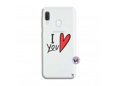 Coque Samsung Galaxy A20e I Love You