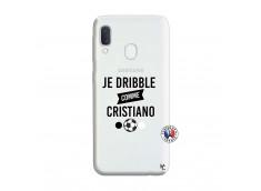 Coque Samsung Galaxy A20e Je Dribble Comme Cristiano