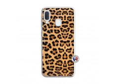 Coque Samsung Galaxy A20e Leopard Style Translu