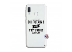 Coque Samsung Galaxy A20e Oh Putain C Est L Heure De L Apero