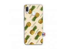 Coque Samsung Galaxy A20e Sorbet Ananas Translu