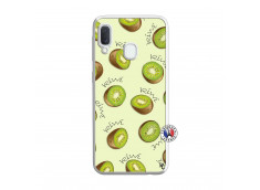 Coque Samsung Galaxy A20e Sorbet Kiwi Translu