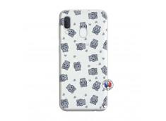 Coque Samsung Galaxy A20e Petits Hippos
