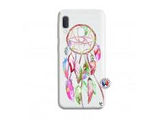 Coque Samsung Galaxy A20e Pink Painted Dreamcatcher