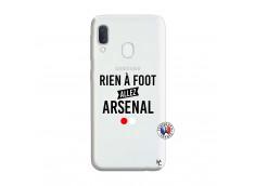 Coque Samsung Galaxy A20e Rien A Foot Allez Arsenal