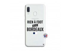 Coque Samsung Galaxy A20e Rien A Foot Allez Bordeaux