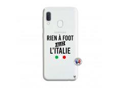 Coque Samsung Galaxy A20e Rien A Foot Allez L'Italie
