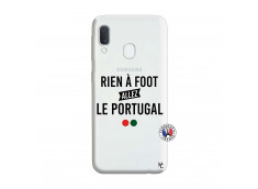 Coque Samsung Galaxy A20e Rien A Foot Allez Le Portugal