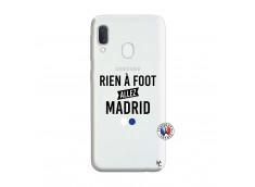 Coque Samsung Galaxy A20e Rien A Foot Allez Madrid