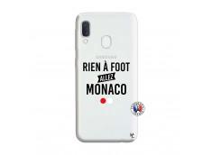 Coque Samsung Galaxy A20e Rien A Foot Allez Monaco