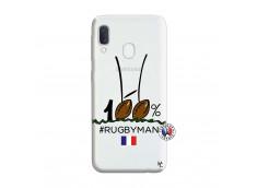 Coque Samsung Galaxy A20e 100 % Rugbyman Entre les Poteaux