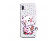 Coque Samsung Galaxy A20e Smoothie Cat