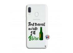 Coque Samsung Galaxy A20e Tout Travail Merite Sa Biere