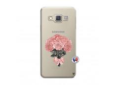 Coque Samsung Galaxy A3 2015 Bouquet de Roses