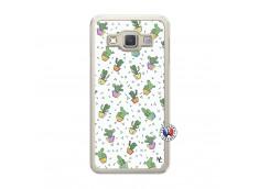 Coque Samsung Galaxy A3 2015 Le Monde Entier est un Cactus Translu