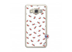 Coque Samsung Galaxy A3 2015 Cartoon Heart Translu