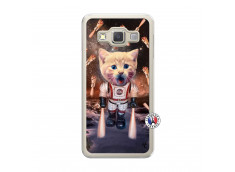 Coque Samsung Galaxy A3 2015 Cat Nasa Translu