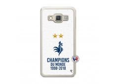 Coque Samsung Galaxy A3 2015 Champion Du Monde Translu