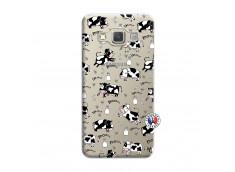 Coque Samsung Galaxy A3 2015 Cow Pattern