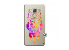 Coque Samsung Galaxy A3 2015 Dreamcatcher Rainbow Feathers