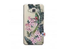 Coque Samsung Galaxy A3 2015 Flower Birds