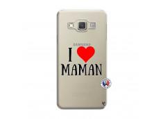 Coque Samsung Galaxy A3 2015 I Love Maman