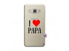 Coque Samsung Galaxy A3 2015 I Love Papa
