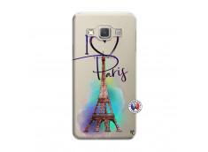 Coque Samsung Galaxy A3 2015 I Love Paris