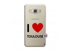 Coque Samsung Galaxy A3 2015 I Love Toulouse