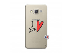 Coque Samsung Galaxy A3 2015 I Love You