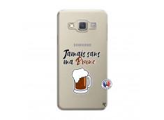 Coque Samsung Galaxy A3 2015 Jamais Sans Ma Brune