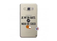 Coque Samsung Galaxy A3 2015 Je m'en bats Les Noix De Coco