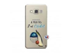 Coque Samsung Galaxy A3 2015 Je peux pas j'ai cricket